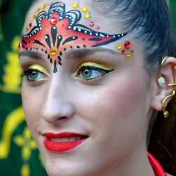 Maquillaje moros y cristianos Murcia