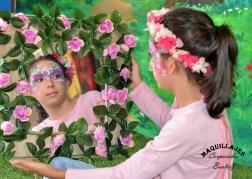Pintacaras infantil de princesa