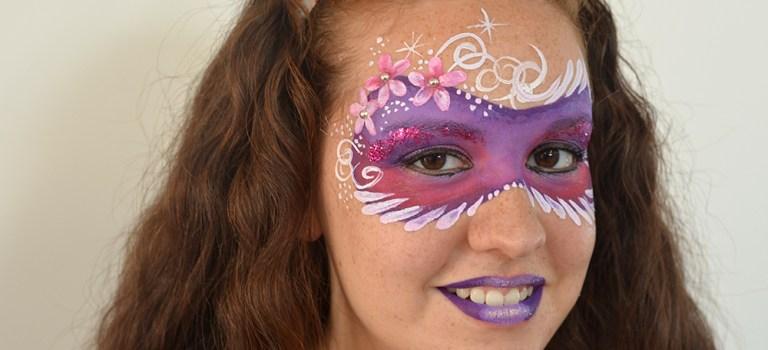 Tutorial maquillaje facial de fantasía