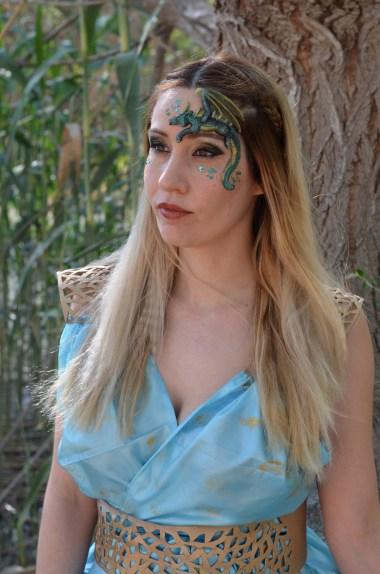 Maquillaje Daenerys