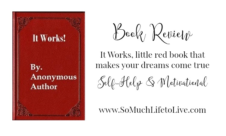 Motivational – It Works, little red book that makes your dreams come true