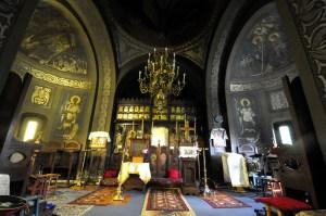 Vedere interioara din biserica