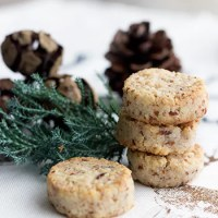 Weihnachtsbäckerei, die 4te: Mandel-Kokos-Plätzchen
