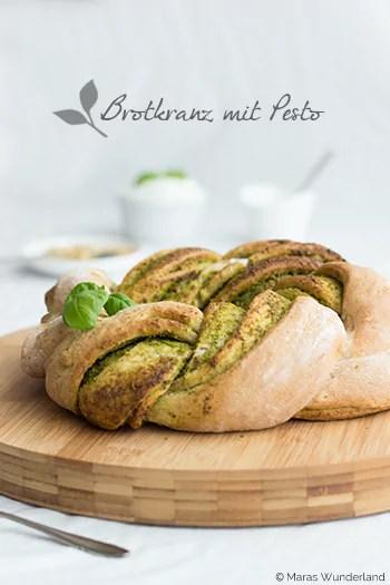 Pesto-Brotkranz