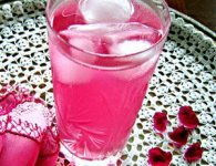 Rose Flower Juice : This is unique juice recipe. This natural drink is made up with rose petals and other ingredients. Serve with ice cubes. a glass of Rose Juice(Sharbat) can help...
