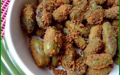 Bharali Tondali – Stuffed Gherkins – Bharali Tondali or also known as stuffed Gherkins is a Maharashtriyan cuisine made of Gherkins , also known as Tondali in Marathi. Here is...