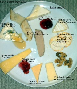 NY Day Cheese Plate