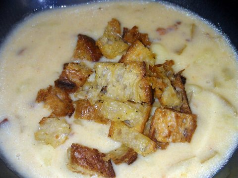 pistol point potato soup