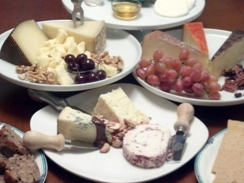 Downton Abbey Cheese Party
