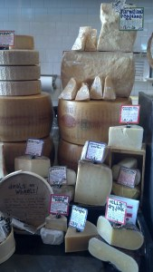 Zingerman's Cheese Display