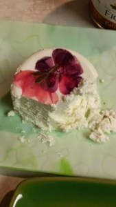 Salt Spring Island Flower Chevre