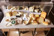 Cheese Cart at L'Espalier, Boston Back Bay