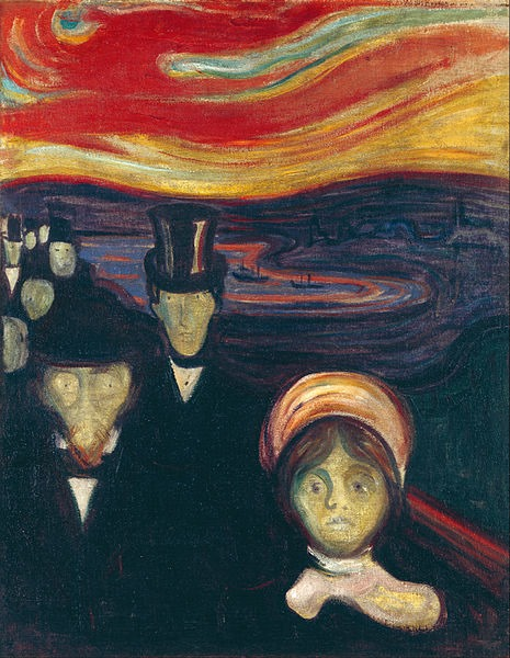 Ansiedade - Evard Munch