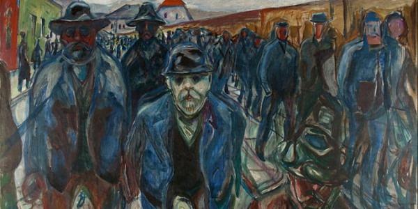 Trabalhadores - Edvard Munch