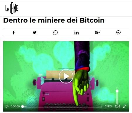 Le Iene - Servizio Bitcoin Mining