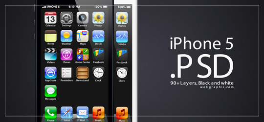 Apple-iPhone-5-PSD-by-wellgraphic