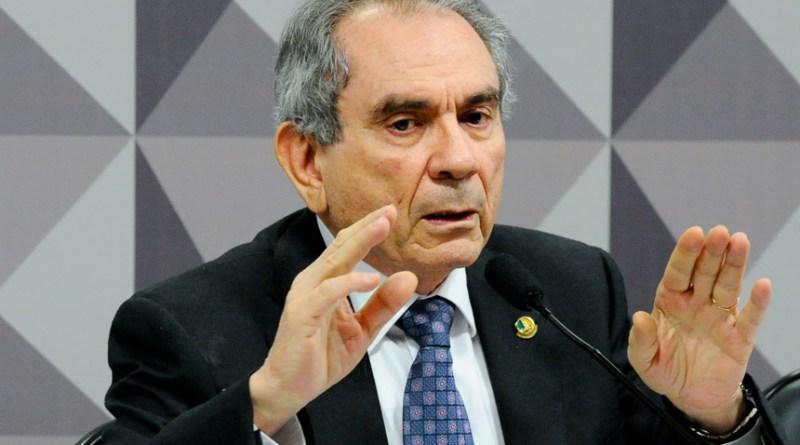 Comissão Especial do Impeachment 2016 (CEI2016) realiza reunião para manifestação da defesa da presidente Dilma Rousseff e discussão do relatório.   Em pronunciamento, o presidente da CEI2016, senador Raimundo Lira (PMDB-PB).   Foto: Marcos Oliveira/Agência Senado