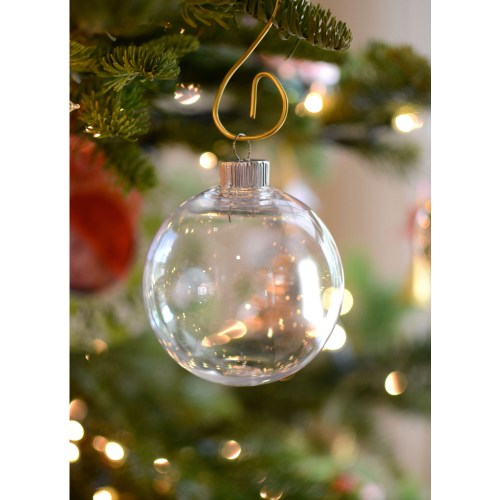 Medium Of Clear Christmas Ornaments