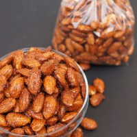 Honey and Spice Roasted Almonds