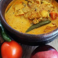 Fish Molee - Fish Cooked in Mildly Spiced Coconut Milk