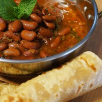 Red Kidney Bean Curry - Rajma Curry