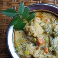 Vegetable Korma - Delicately Spiced Indian Vegetable Curry