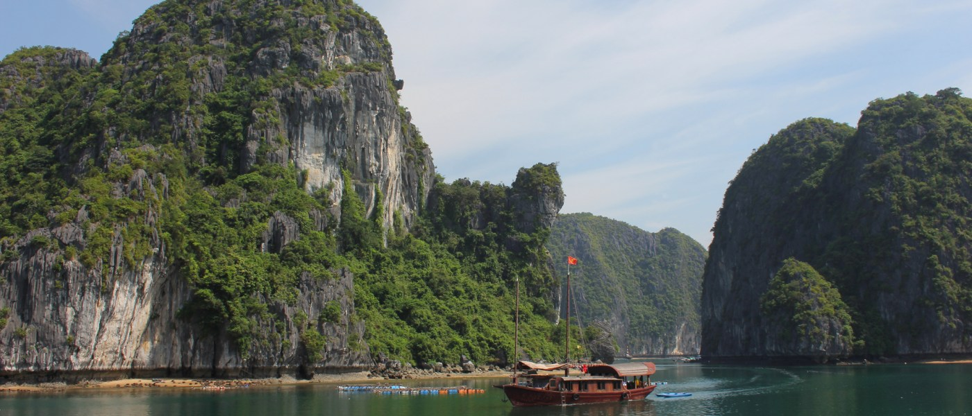 Halong Bay, must see place in Vietnam