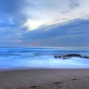 Placid Ocean Canvas