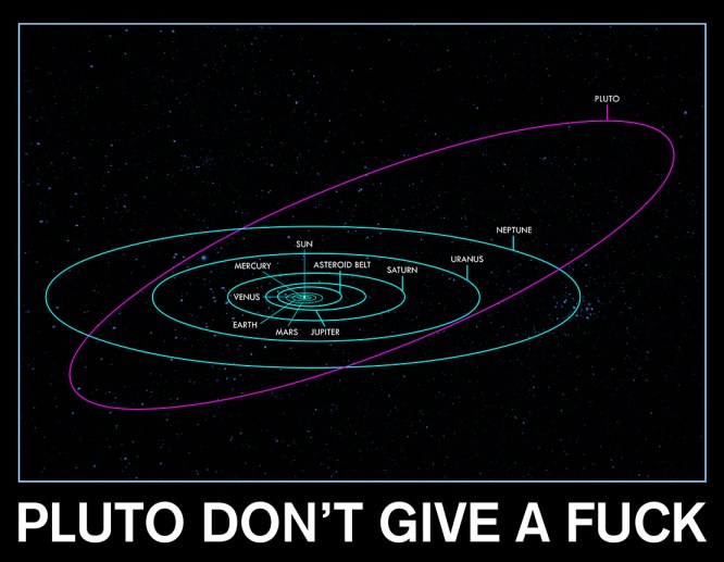 Pluto Don't Give A Fuck