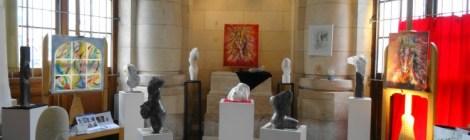 Galerie d'Art en gare de La Rochelle, Expo de Sofi Gérard du 25 au 29 juin 2016 Galerie Esquié La Rochelle