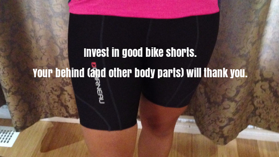 invest in good bike shorts