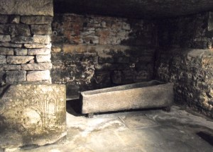 plague victims' sarcophagus