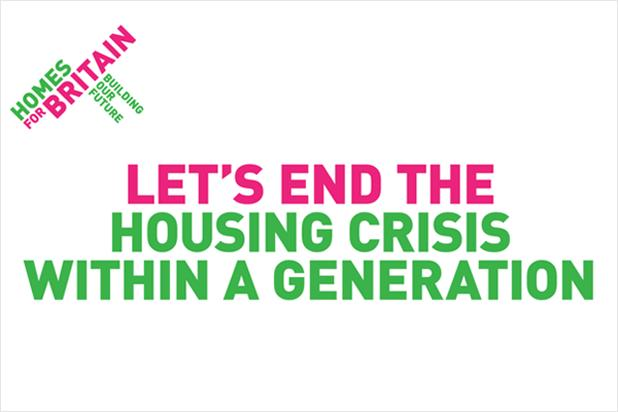Homes for Britain: calling on politicians