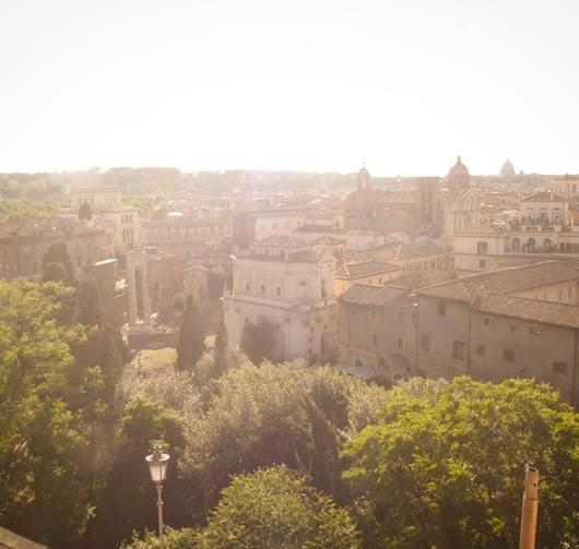 Roma sunset