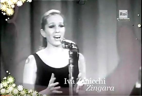 Iva Zanicchi al festival di Sanremo 1969