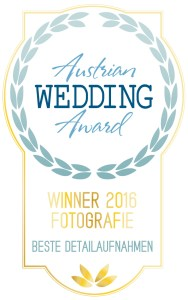 Gewinner Austrian Wedding Award Photography