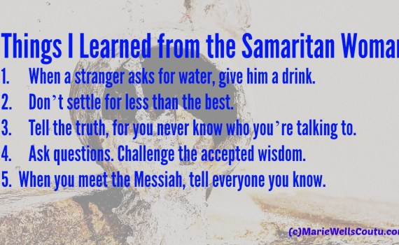 5 things I learned from Samaritan woman
