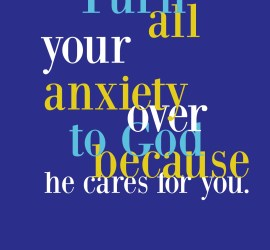 God cares for you.