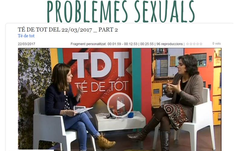 Com afecten problemes sexual tdetot tv Girona