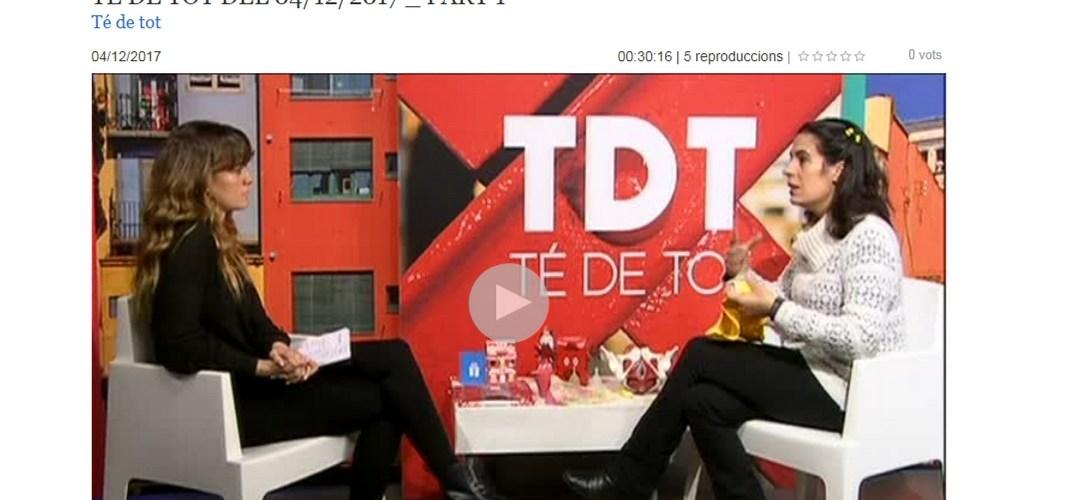 20171204 tv girona La copa menstrual