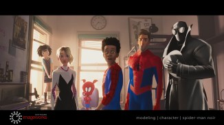 Spider-Man Noir | Spider-Ham | Model | character