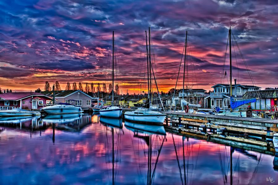 Mark Epstein Photo | Boats at Dawn