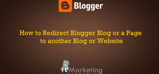 How to Redirect Blogger Blog or a Page to another Blog or Website