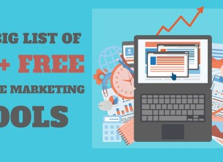 The Big List of 150+ FREE Online Marketing Tools to Better Manage Your Online Business