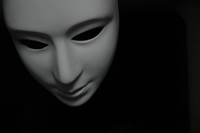 hiding mask