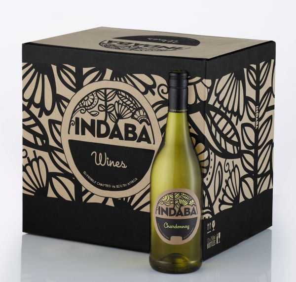 Indaba carton with Chardonnay lowres