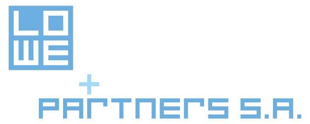 Lowe+Partners SA blue logo