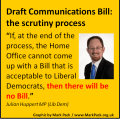 Julian Huppert on Communications Data Bill