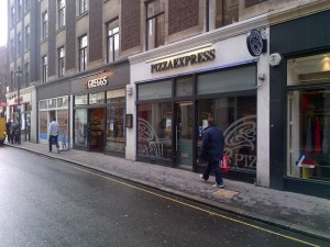 Pizza Express, Upper James Street, Golden Square