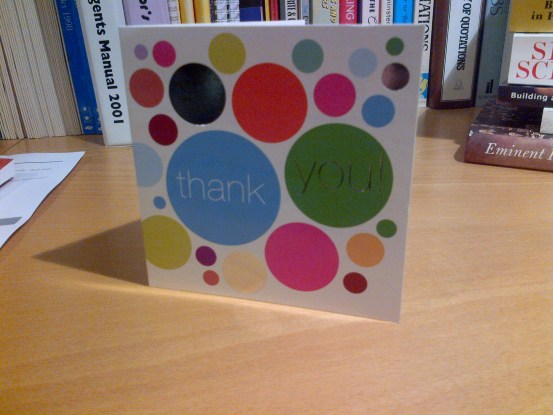 Brixton Hill thank you card - Streatham Liberal Democrats
